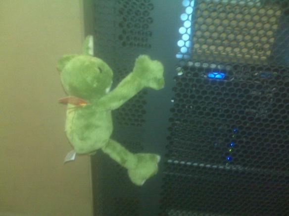 Humping Frog