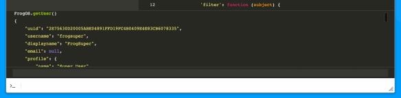 Frog Code - Inline